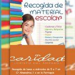 RECOGIDA DE MATERIAL ESCOLAR